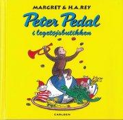 peter pedal i legetøjsbutikken - bog