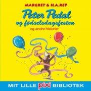 pixi-bib: peter pedal og fødselsdagsfesten - bog