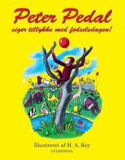 peter pedal siger tillykke med fødselsdagen - bog