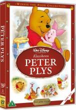 peter plys klassikeren / the many adventures of winnie the pooh - DVD