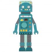 højdemåler - petit collage - blå robot - Til Boligen
