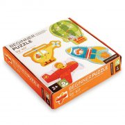 børne / baby puslespil - luftfartøjer - petit collage - Brætspil