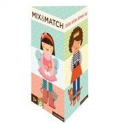 petit collage - mix&match puslespil - påklædningsdukke - Brætspil