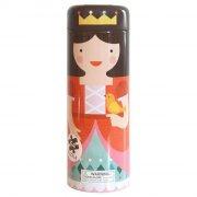 petit collage - puslespil i sparedåse med prinsesseslot, 64 brikker - Brætspil