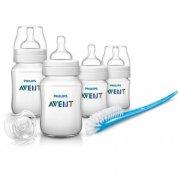 philips avent sutteflasker til nyfødte - startssæt - classic+ - Babyudstyr