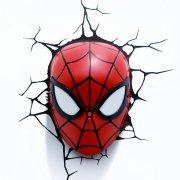 spiderman væglampe / natlampe - 3d - Til Boligen