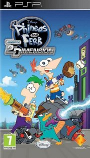 phineas & ferb: across the second dimension - psp