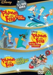 phineas and ferb - the daze of summer // the fast and the phineas // best lazy day ever - DVD