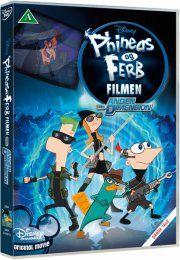 phineas and ferb - filmen - i den anden dimension - DVD