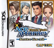 phoenix wright justice for all (import) - nintendo ds