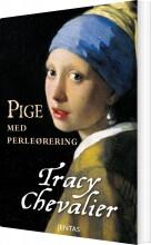 pige med perleørering - bog