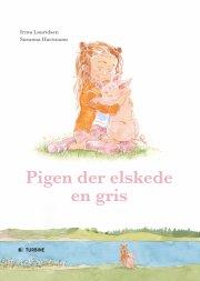 pigen der elskede en gris - bog