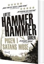 pigen i satans mose - bog