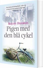 pigen med den blå cykel - bog