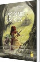 pigen med snogen 2 - bog