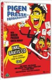 pigen og pressefotografen  - Dvd+Cd