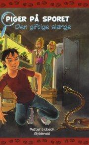 piger på sporet 8 - den giftige slange - bog