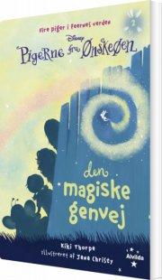 pigerne fra ønskeøen 2: den magiske genvej - bog