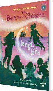 pigerne fra ønskeøen 8: langt fra land - bog