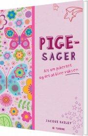 pigesager - bog
