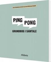 ping pong, grundbog i samtale - bog