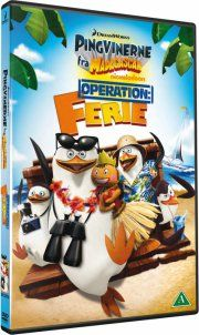 penguins of madagascar: operation vacation / pingvinerne fra madagascar: operation ferie - DVD