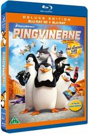 pingvinerne fra madagascar - the movie - 3D Blu-Ray