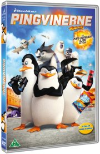 pingvinerne fra madagascar - the movie - DVD