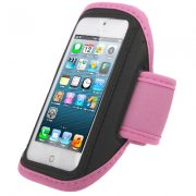 armbånd til iphone 4 / 4s / 5 - sport - pink - Mobil Og Tilbehør