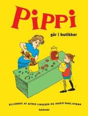 pippi går i butikker - bog