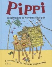 pippi på kurrekurredut-øen - bog