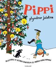 pippi plyndrer juletræ - bog