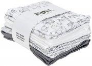 pippi stofbleer - 8-pack - hvid - Babyudstyr