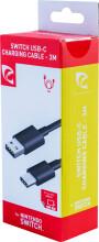 nintendo switch oplader kabel - 3 m - Konsoller Og Tilbehør