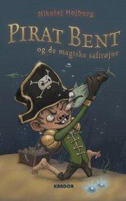 pirat bent og de magiske safirøjne - bog