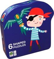puslespil til børn - sørøver - Brætspil