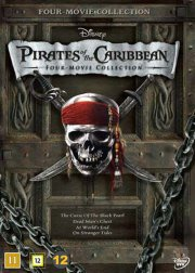 pirates of the caribbean 1-4 collection - DVD
