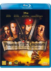 pirates of the caribbean 1 - den sorte forbandelse - Blu-Ray