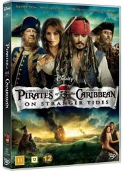 pirates of the caribbean 4 - i ukendt farvand - DVD