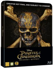 pirates of the caribbean 5 - salazars hævn - steelbook - Blu-Ray