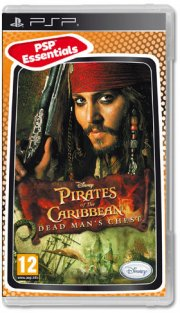 pirates of the caribbean: dead man's chest (essentials) - psp