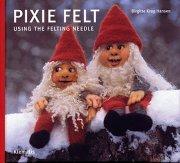 pixie felt using the felting needle - bog