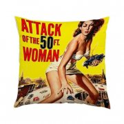 pude med tryk - attack of the 50ft woman - Merchandise
