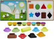 modellervoks - farver og former - play doh - Kreativitet