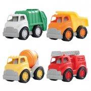mighty wheels pakke med 4 store biler - Køretøjer Og Fly