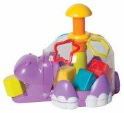 playgro puttekasse / putteboks - flodhest - Babylegetøj