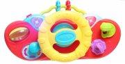 playgro legetøjsrat til klapvogn - music drive & go - Babylegetøj