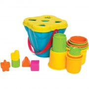 playgro - jerry's class - stabel- og puttespand - Motorik