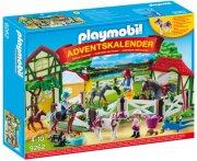 playmobil julekalender 9262 - horse farm - Playmobil