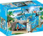 playmobil aquarium med fisk - family fun - Playmobil